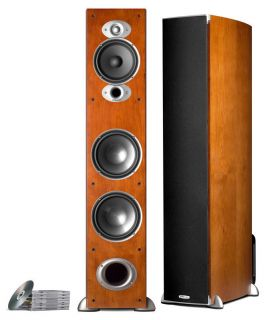 Polk Audio RTi A7 Tower Speaker Factory Authorized Cherry