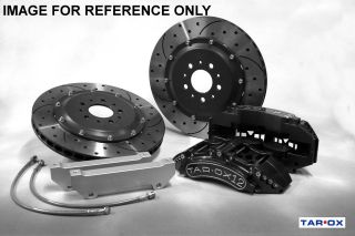 Tarox Ford Focus RS Turbo/ST170 02 04 Front Brake Kit 355mm 12 Pot