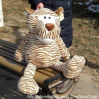 WILD FRIENDS GIANT TIGER STUFFED PLUSH TOY HUGE 40 UK