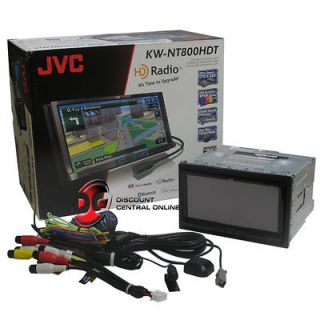 JVC KW NT800HDT Car DVD Player