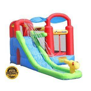 Ultimate Combo Inflatable Bounce House Water Slide,Include Blower,WHY