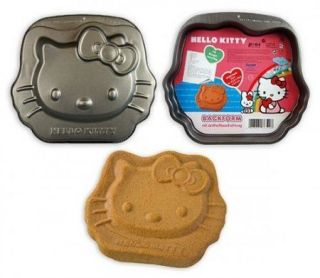 NEW Hello Kitty Cake Pan Non Stick Metal Baking Animal Birthday