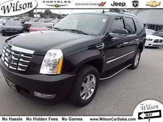Cadillac  Escalade Base Sport Utility 4 Door 6.2L OnStar Chrome AWD