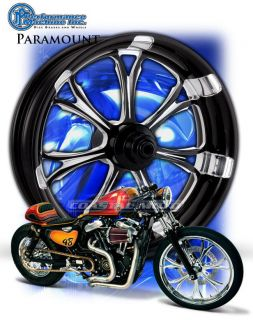 PM Performance Machine Paramount Motorcycle Wheel Harley Streetglide