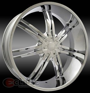 20 inch B14 chrome wheels rims Dodge Charger Magnum