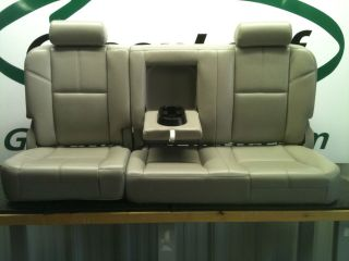 Chevy Silverado Pickup Truck 4 Door Crew Cab Leather Rear Back Seat