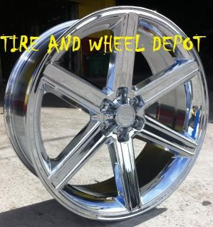 24 INCH IROC RIMS WHEELS AND TIRES YUKON SIERRA ESCALADE SUBURBAN