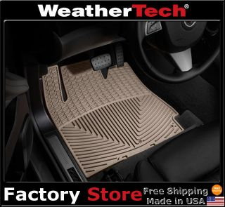 WeatherTech® All Weather Floor Mats   2010 2011   Cadillac SRX   Tan