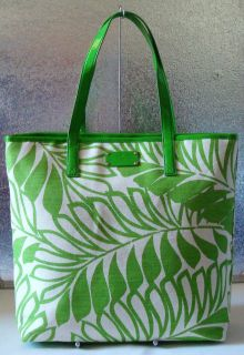 NWT KATE SPADE VERANDAH PLACE ABBOTT SHOPPER TOTE PURSE GREEN