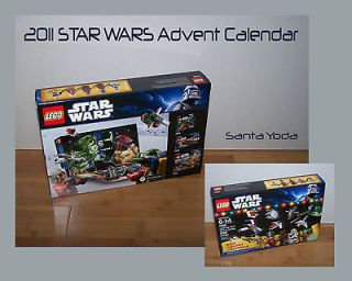 New 2011 Lego 7958 Advent Calendar with Santa Yoda NIMSB