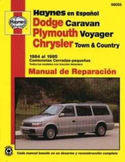 Dodge Caravan, Plymouth Voyager, Chrysler Town and Country 1984 95 by
