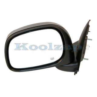 02 09 Dodge Ram 1500 3500 Pickup Truck Power Heated Folding Mirror
