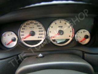 00 05 PLYMOUTH CHRYSLER DODGE NEON SPEEDO GAUGE RINGS