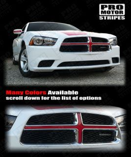 Dodge Charger Front Grille Gross Insert Stripe 2011 2012 2013