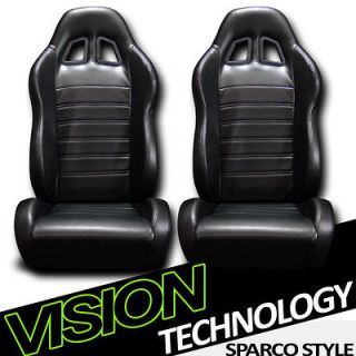 Racing Bucket Seats+Sliders New 14 (Fits Jeep Grand Cherokee
