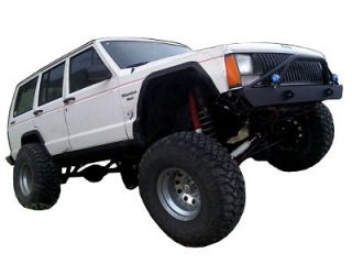 Jeep XJ Cherokee Front Offroad Bumper with Brush Guard