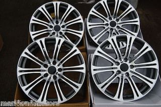 GUN METAL MULTI ALLOY WHEELS FITS FIAT DUCATO VAN 2.3 LITRE 110 MJ SWB