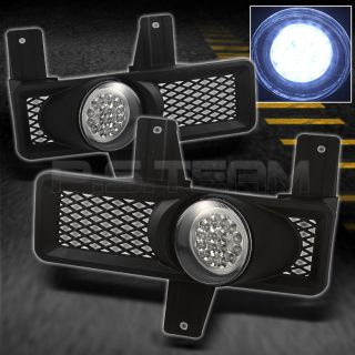 97 98 F150 EXPEDITION HYPER WHITE FULL LED FOG LIGHTS LAMPS w/SWITCH