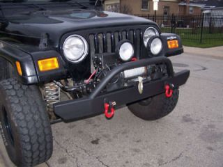 Jeep Wrangler Front Offroad Bumper, Brush Guard (Fits Jeep Wrangler)