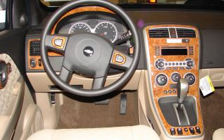 Mitsubishi Eclipse 00 05 Interior Wood Pattern Dash Kit Trim Dashboard