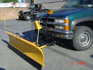 Rebuilt snowplow Chevy Ford Dodge plow Meyers EZ classic used 2500 ST