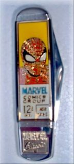 Franklin Mint SPIDERMAN COLLECTOR KNIFE NIB ~ RARE Last 1 Left