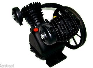 Twin Piston V Type Air Compressor Head Pump Heavy Duty