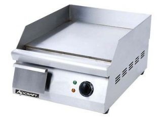 Newly listed 16 Commercial Electric Griddle 120V Adcraft GRID 16