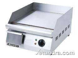 AdCraft GRID 16 16 Countertop Electric Griddle   Flat Top Grill