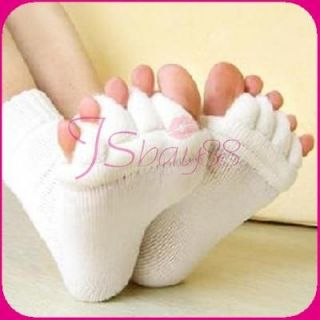 1Pair Massage Toe Socks Foot Blood Circulation Relieving Foot Pain