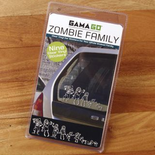 Newly listed Zombie Family Car Sticker Vinyl Decals