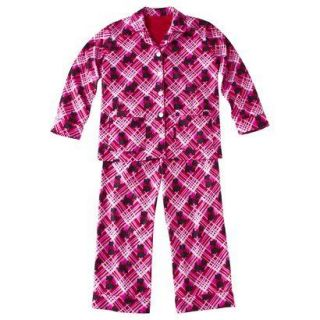 NORA GIRLS FLANNEL SCOTTISH TERRIER/SCOTTY DOG PAJAMAS/PJS 6/6x OR 7/8