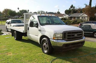 Ford  F 350 Stake Bed / Flat Bed / Utility Construction Truck 2002