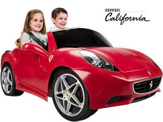 Feber Ferrari California 12v Car Ride on Kids Toy Car Battery Operated