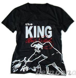 Elvis Presley The King BLK Baby Doll Tshirt M or L NEW