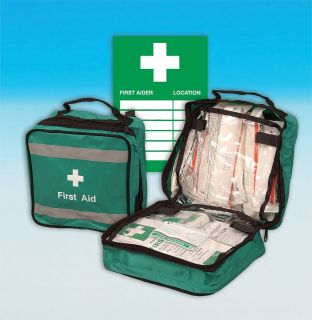 EMPTY COMPACT FAST RESPONSE FIRST AID KIT BAG   SPORTS, PARAMEDIC