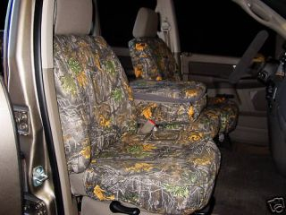 Ford F 150 Pickup Truck Camouflage Seat Covers
