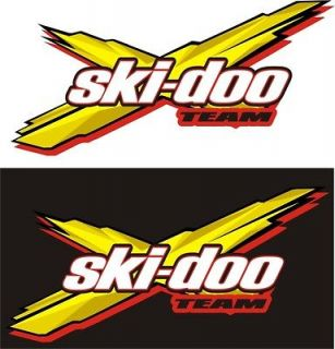 Ski Doo SKIDOO rev XP MX  Z RENEGADE SUMMIT FREESTYLE GSX DECALS