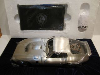 FRANKLIN MINT 112 SCALE PEWTER SHELBY DAYTONA COBRA COUPE BONDURANT