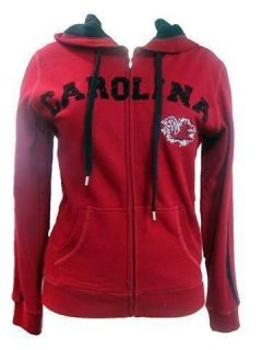 South Carolina Gamecocks Ladies Zip Up Hooded Sweatshirt