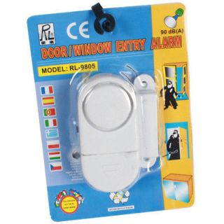 Wireless Door Window Entry Alarm Magnetic Alert 90db
