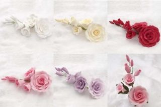 EDIBLE ROSE FILLERS CAKE DECORATING GUM PASTE SUGAR