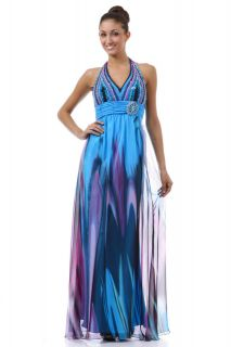 SEXY MULTI COLORED SWEET 16 PROM GOWNS COLORFUL FORMAL NEW YEARS