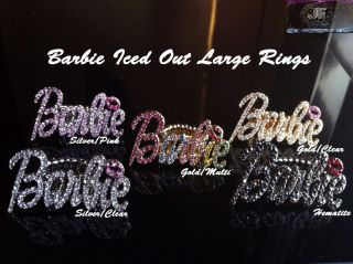 nicki minaj barbie ring in Rings
