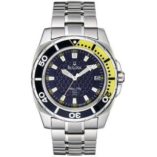 Bulova Marine Star Mens Blue Dial Watch