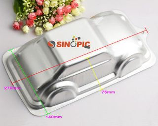3D CAR mold ALUMINIUM CAKE TIN PAN MOULD cake decorate tool