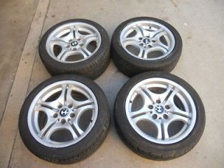 BMW M3 E36 E46 323 325 330 17 Inch 17 OEM Alloy Wheels Rims Tires