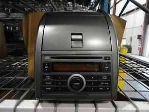 07 09 Nissan Sentra Single Disc CD Radio Bezel Unit LKQ (Fits Nissan