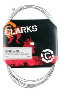 Clarks Shifter/Gear Cable for Road or Mountain Bikes or Grip Shift