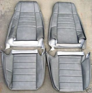 JEEP EARLY YJ WRANGLER FIXED BUCKET SEAT UPHOLSTERY KIT